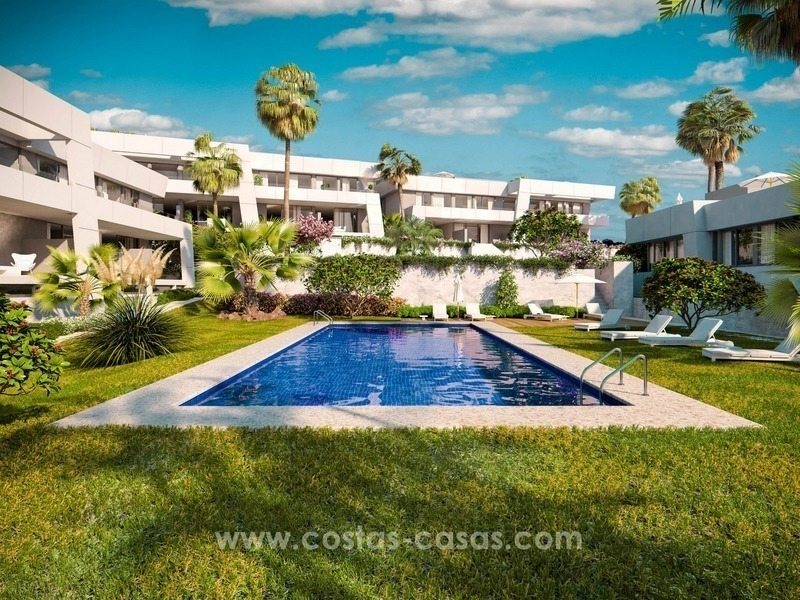 Luxury modern new townhouses for sale in East Marbella