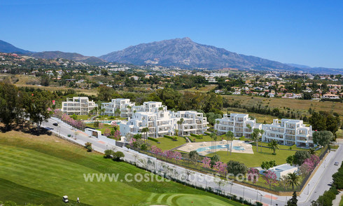 Stunning Modern Designer Apartments & Penthouses for sale frontline golf in Benahavis - Marbella 18837