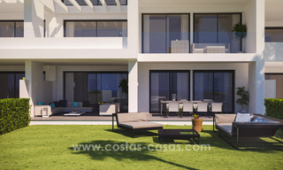 Stunning Modern Designer Apartments & Penthouses for sale frontline golf in Benahavis - Marbella 18841