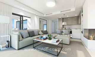 Stunning Modern Designer Apartments & Penthouses for sale frontline golf in Benahavis - Marbella 18842