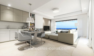 Stunning Modern Designer Apartments & Penthouses for sale frontline golf in Benahavis - Marbella 18843