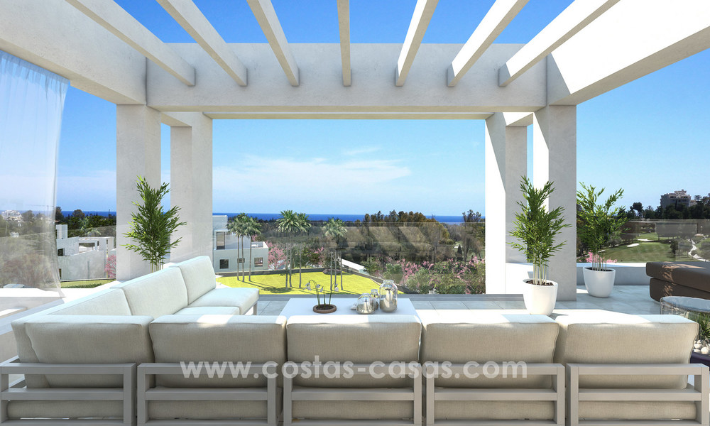 Stunning Modern Designer Apartments & Penthouses for sale frontline golf in Benahavis - Marbella 18844