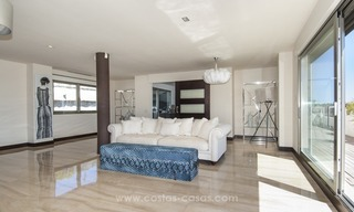 Panoramic sea view modern penthouse apartment for sale in Benahavis, Marbella 16
