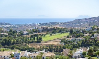 Panoramic sea view modern penthouse apartment for sale in Benahavis, Marbella 3