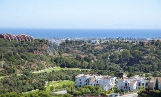 Panoramic sea view modern penthouse apartment for sale in Benahavis, Marbella 2
