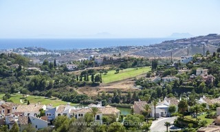 Panoramic sea view modern penthouse apartment for sale in Benahavis, Marbella 7