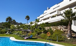 Panoramic sea view modern penthouse apartment for sale in Benahavis, Marbella 1