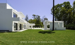 New modern beach villa for sale in Marbella 2