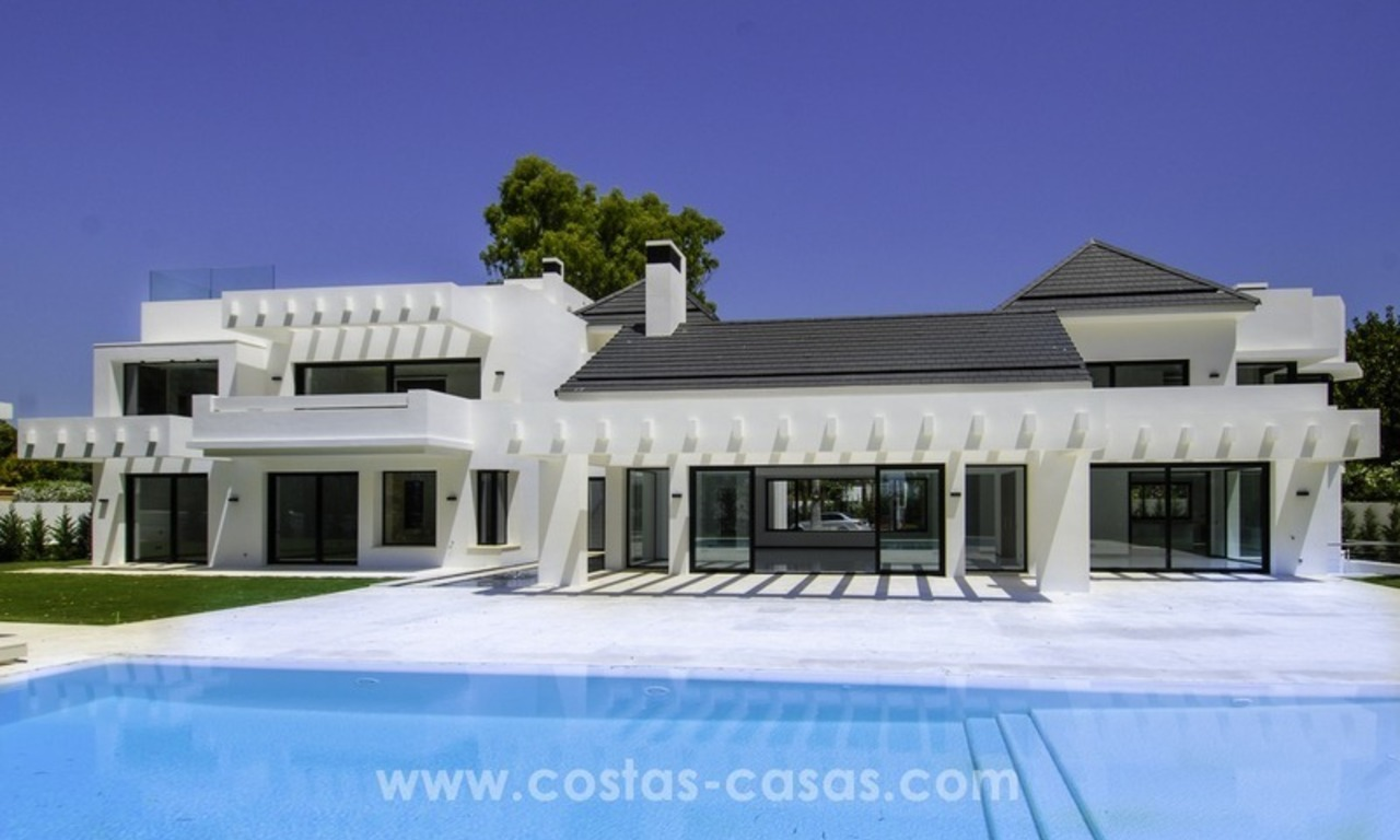 New modern beach villa for sale in Marbella 1