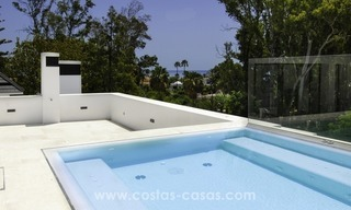 New modern beach villa for sale in Marbella 3