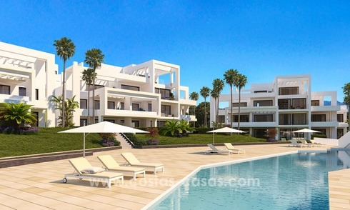 Stunning Modern Designer Apartments & Penthouses for sale frontline golf in Benahavis - Marbella