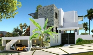Brand New luxury contemporary Villas for sale on the Golden Mile, Marbella 3