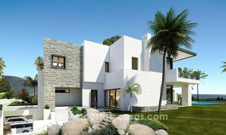 Brand New luxury contemporary Villas for sale on the Golden Mile, Marbella 2