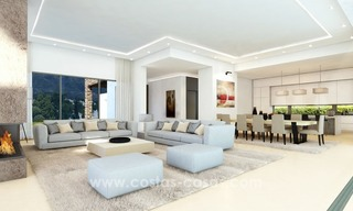 Brand New luxury contemporary Villas for sale on the Golden Mile, Marbella 6