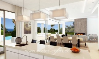 Brand New luxury contemporary Villas for sale on the Golden Mile, Marbella 8