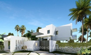 Brand New modern Villas for sale on the Golden Mile, Marbella 3