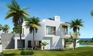 Brand New modern Villas for sale on the Golden Mile, Marbella 2