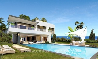 Brand New modern Villas for sale on the Golden Mile, Marbella 0