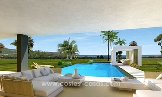 Contemporary luxury Villas for sale on the Golden Mile, Marbella 6