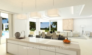 Contemporary luxury Villas for sale on the Golden Mile, Marbella 8