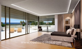 Contemporary luxury Villas for sale on the Golden Mile, Marbella 12