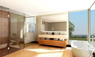 Contemporary luxury Villas for sale on the Golden Mile, Marbella 14