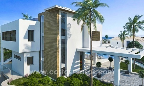 New villa next to the golf for sale in Nueva Andalucía, Marbella