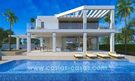 New villa next to the golf for sale in Nueva Andalucía, Marbella 1