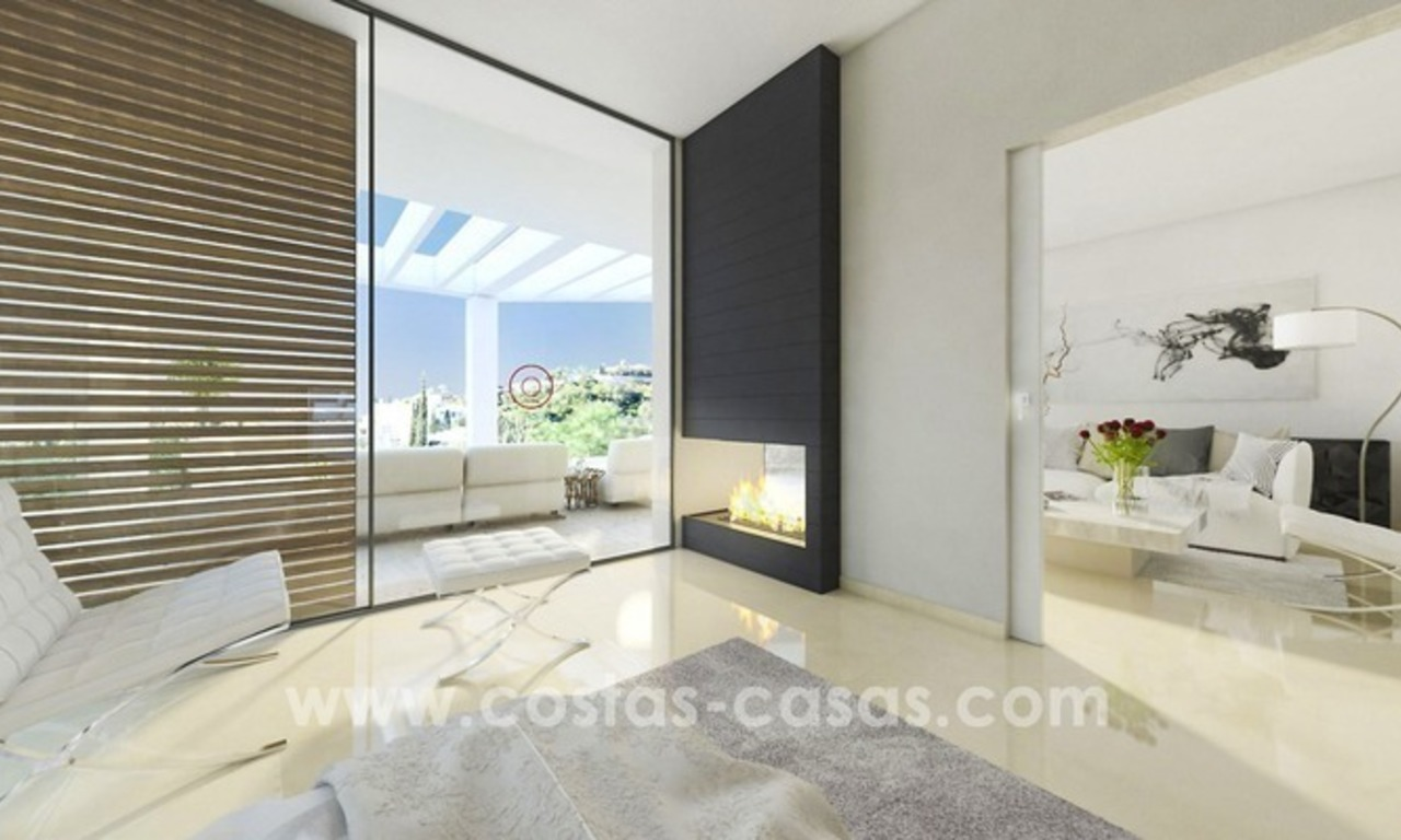 New villa next to the golf for sale in Nueva Andalucía, Marbella 8