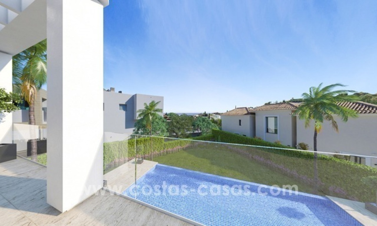 New villa next to the golf for sale in Nueva Andalucía, Marbella 5