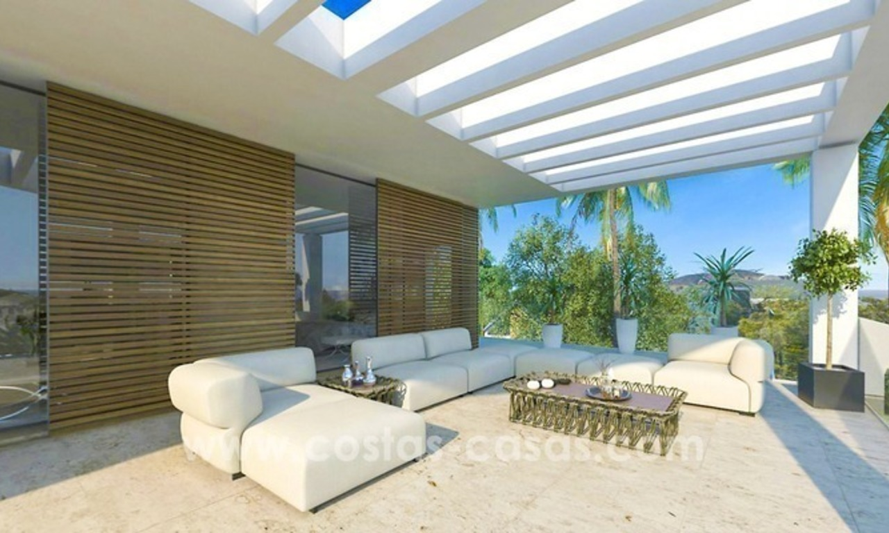 New villa next to the golf for sale in Nueva Andalucía, Marbella 3
