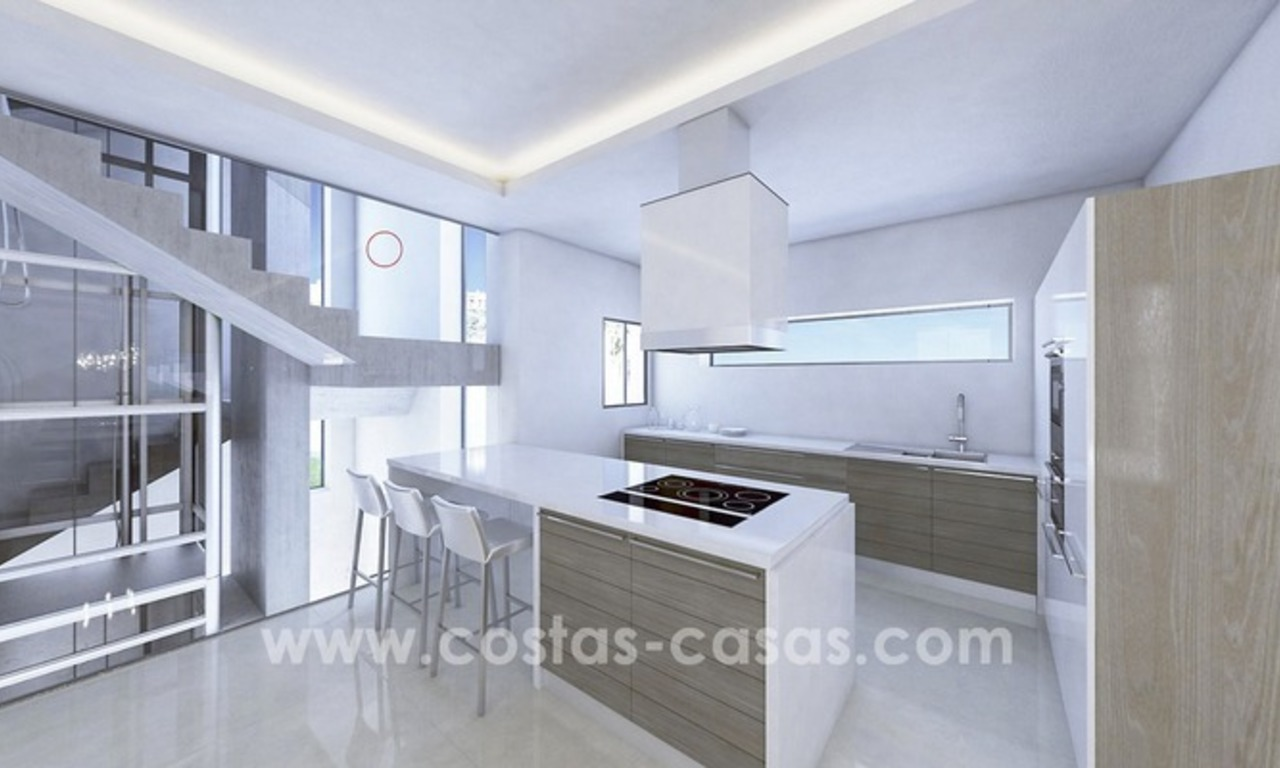 New villa next to the golf for sale in Nueva Andalucía, Marbella 9