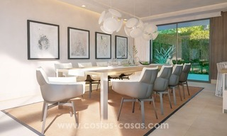 Front Line Beach Newly Constructed Contemporary Villa for sale on the New Golden Mile, Marbella - Estepona 13