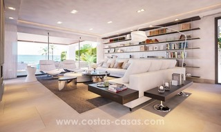 Front Line Beach Newly Constructed Contemporary Villa for sale on the New Golden Mile, Marbella - Estepona 16