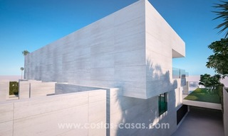 Front Line Beach Newly Constructed Contemporary Villa for sale on the New Golden Mile, Marbella - Estepona 4