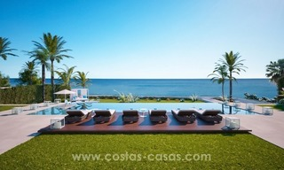 Front Line Beach Newly Constructed Contemporary Villa for sale on the New Golden Mile, Marbella - Estepona 8