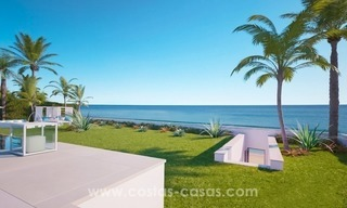 Front Line Beach Newly Constructed Contemporary Villa for sale on the New Golden Mile, Marbella - Estepona 10