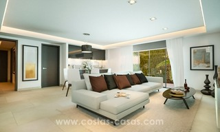 Front Line Beach Newly Constructed Contemporary Villa for sale on the New Golden Mile, Marbella - Estepona 19