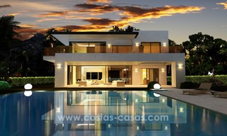 Brand New modern Villas for sale on the Golden Mile, Marbella 13051