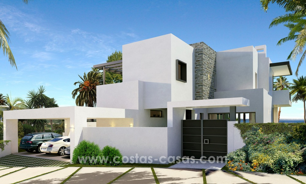 Brand New modern Villas for sale on the Golden Mile, Marbella 13053