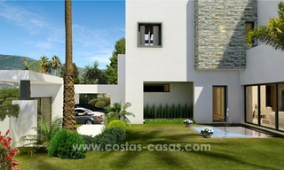 Brand New modern Villas for sale on the Golden Mile, Marbella 13054