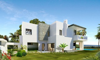 Brand New modern Villas for sale on the Golden Mile, Marbella 13055