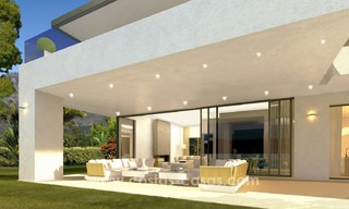 Brand New modern Villas for sale on the Golden Mile, Marbella 13058