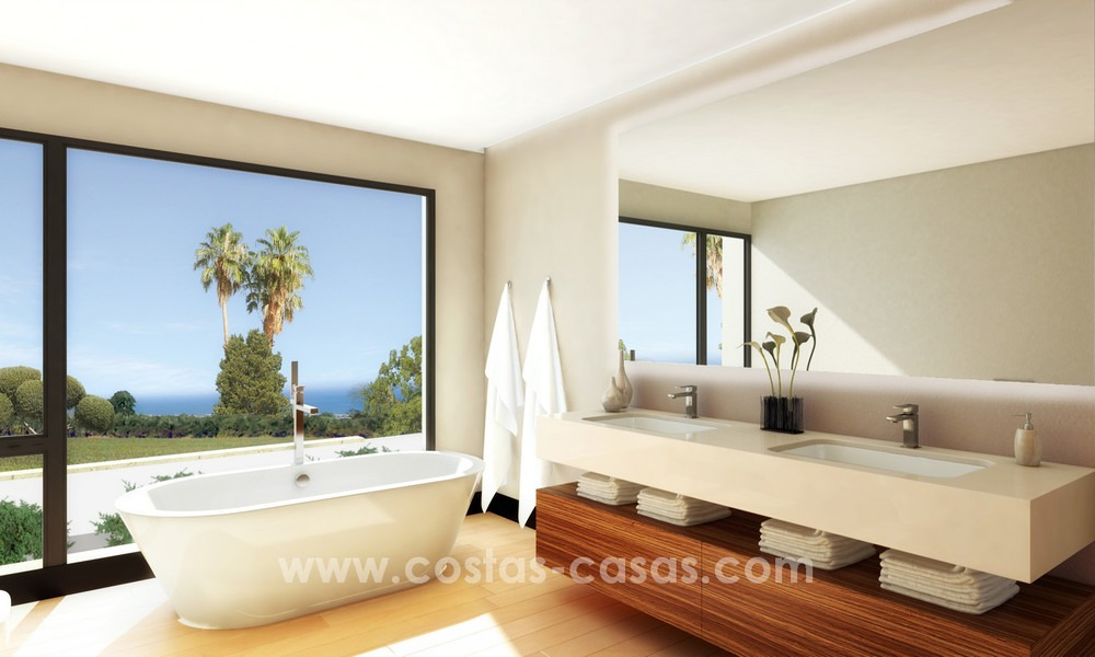 Brand New modern Villas for sale on the Golden Mile, Marbella 13032
