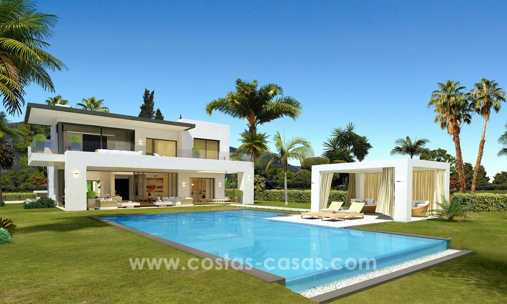 Brand New modern Villas for sale on the Golden Mile, Marbella 13039