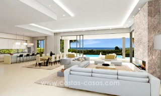 Brand New modern Villas for sale on the Golden Mile, Marbella 13041