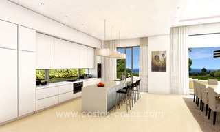 Brand New modern Villas for sale on the Golden Mile, Marbella 13043