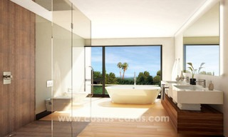 Brand New modern Villas for sale on the Golden Mile, Marbella 13031