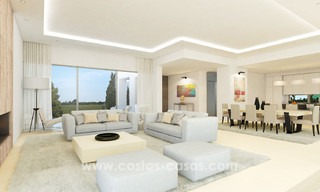 Brand New modern Villas for sale on the Golden Mile, Marbella 13065