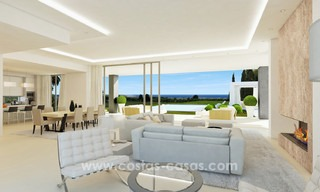 Brand New modern Villas for sale on the Golden Mile, Marbella 13066